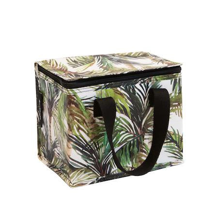 Green Palm Lunch Bag