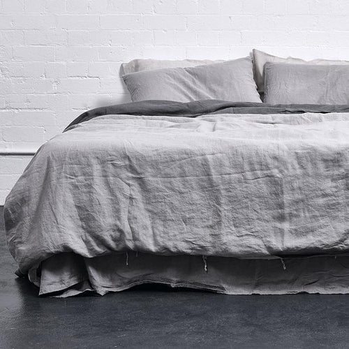 Cool Grey Duvet Cover