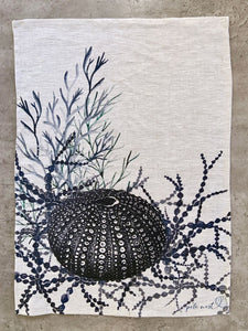 Seaurchin Tea Towel - Oatmeal