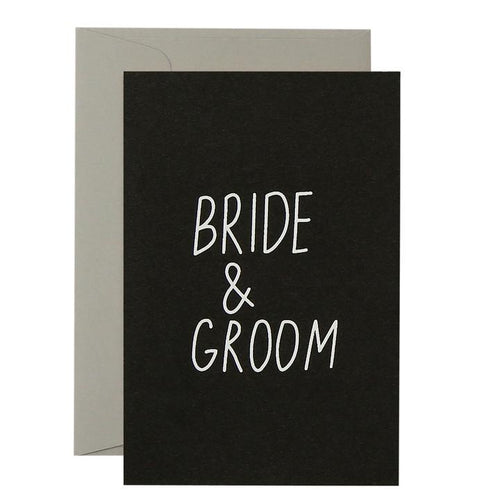 Bride & Groom - Card