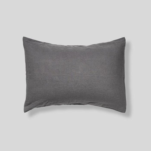 Charcoal Pillowcase Set