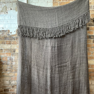Charcoal Gerty Throw