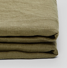 Fitted Sheet - Moss