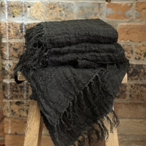 Ryely Hand Towel - Charcoal