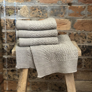 Stella Hand Towel - Natural