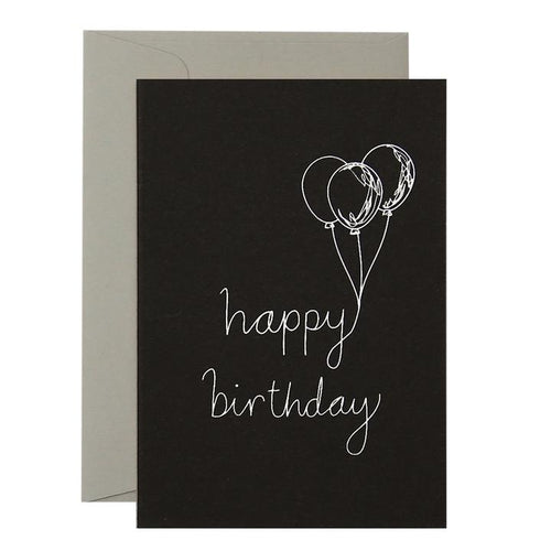 Balloon Birthday - Card