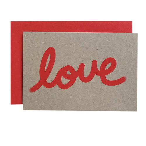 Gradient Love - Card