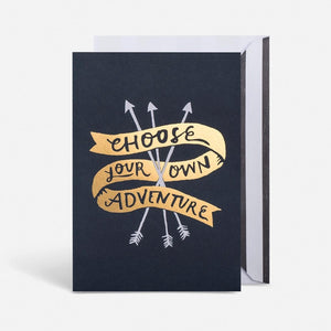 Card - Choose Your On Adventure
