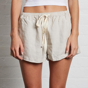 Womens Shorts - Dove Grey