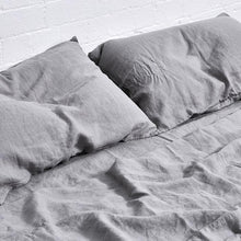 Fitted Sheet - Cool Grey