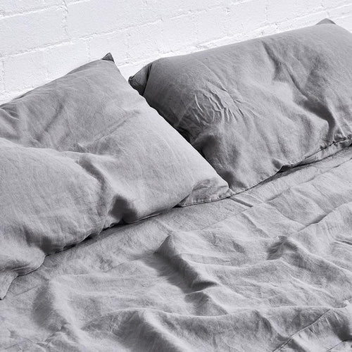 Cool Grey Fitted Sheet