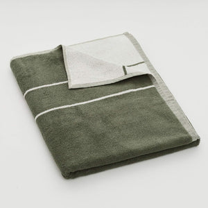 Bath Sheet - Khaki Stripe