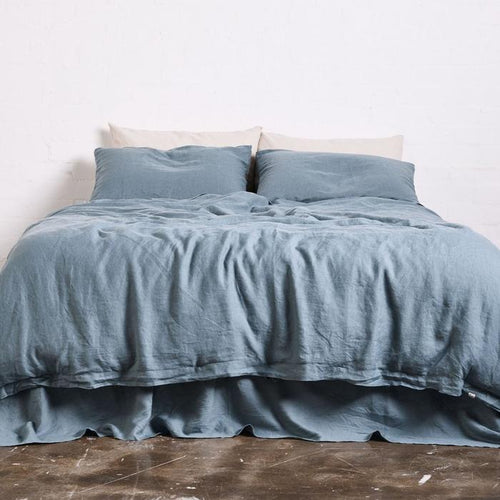 Lake Blue Duvet Cover