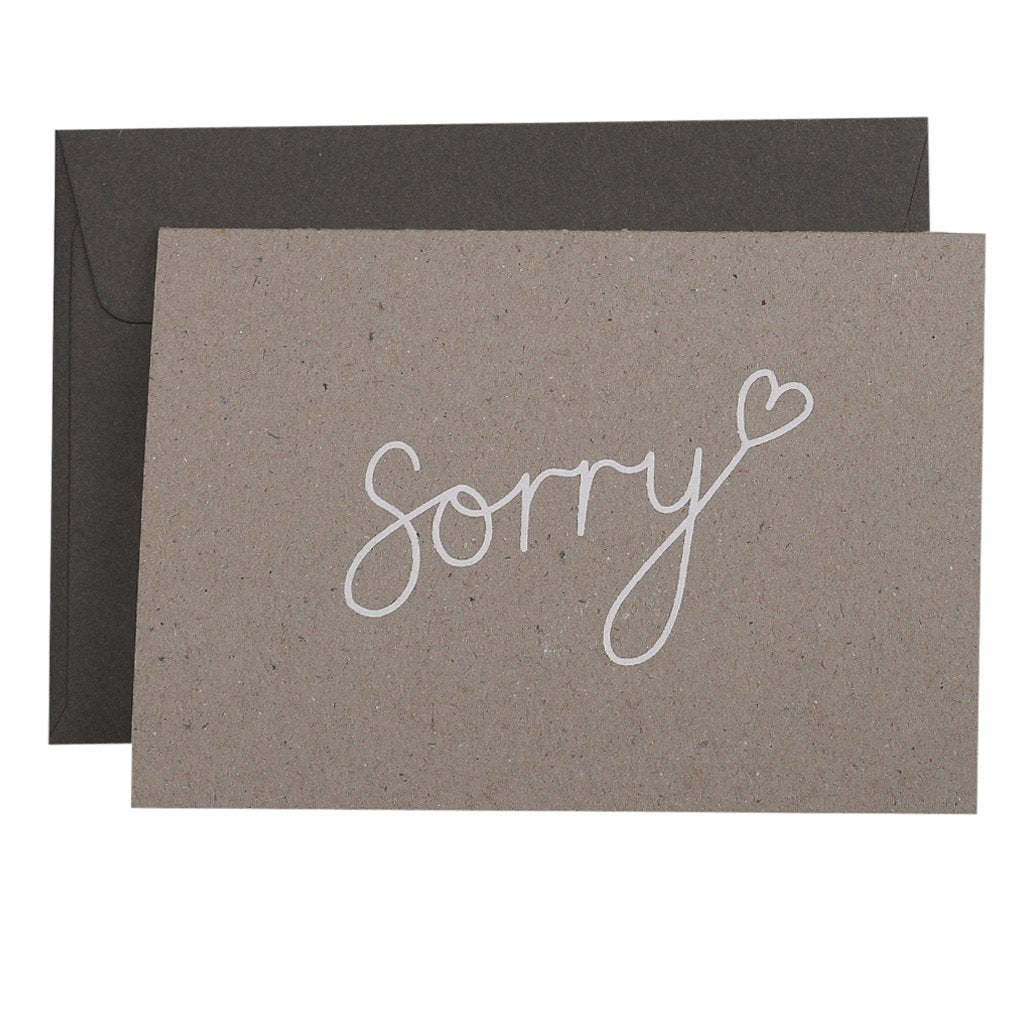 Card - Sorry