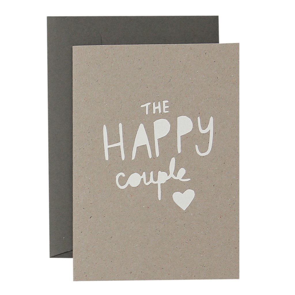 Card - The Happy Couple