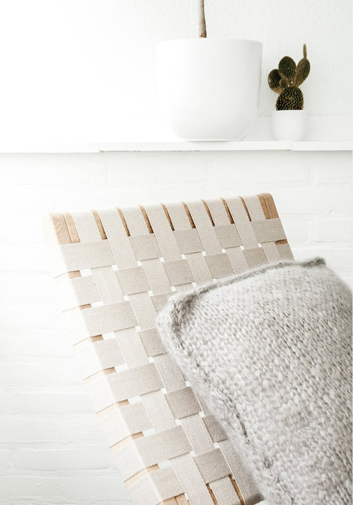 Easy Knit Cushion by Irene Hoofs