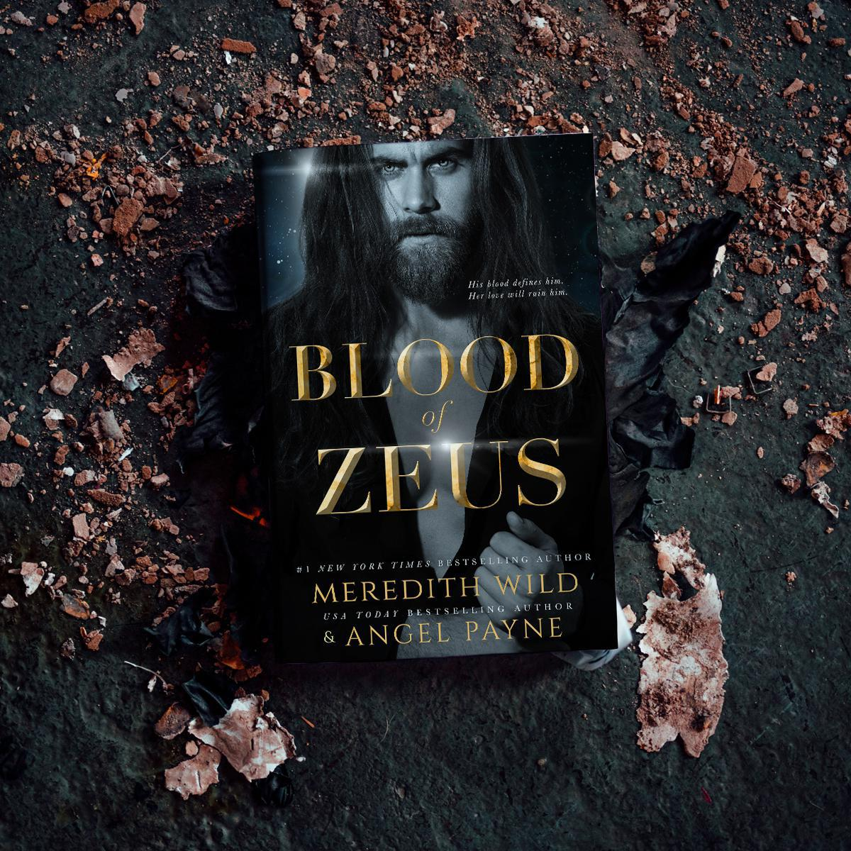 💗 Blood of Zeus by Meredith Wild & Angel Payne - Signed!