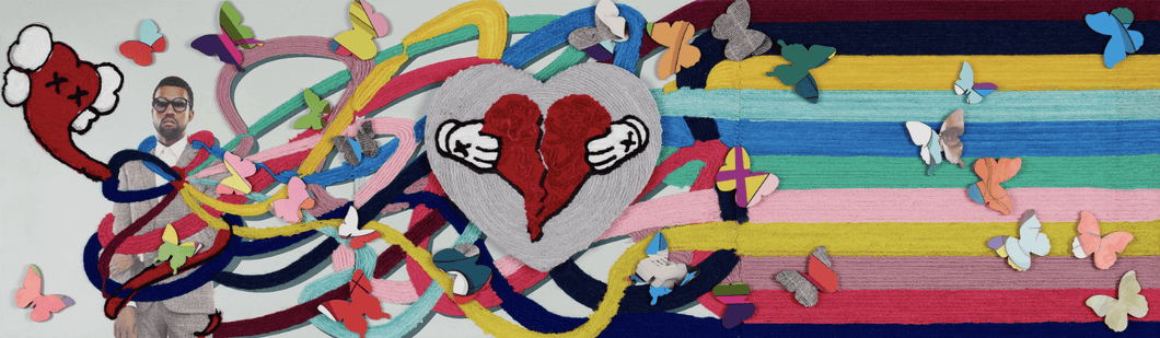 808s & Heartbreak, Kanye West - Adele Gilani Art Gallery