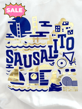 "Load image into Gallery viewer, Adele Gilani Art Gallery ""Sausalito Sweatshirt"" - Adele Gilani Art Gallery"