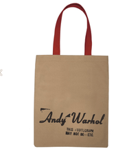 Load image into Gallery viewer, Andy Warhol Campbell's Soup Tote Bag - Adele Gilani Art Gallery