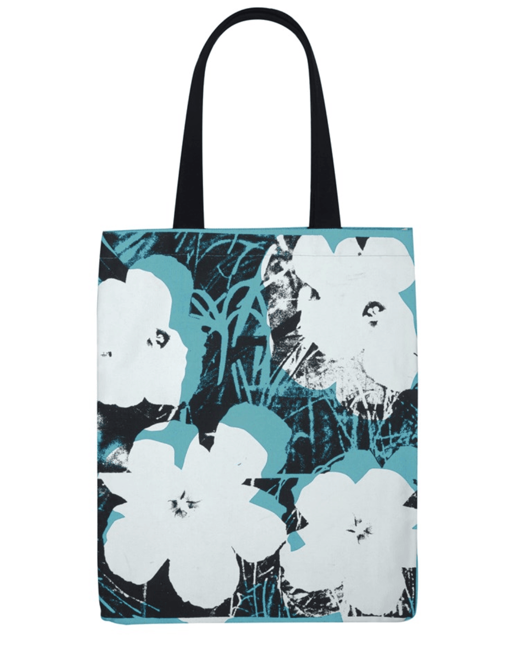 Andy Warhol Poppies Tote Bag Canvas - Adele Gilani Art Gallery