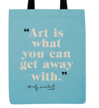 Load image into Gallery viewer, Andy Warhol Poppies Tote Bag Canvas - Adele Gilani Art Gallery