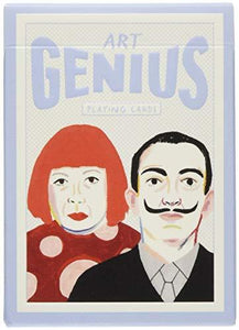 Art Genius Playing Cards - Adele Gilani Art Gallery