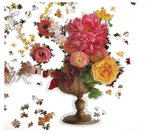 Ashley Woodson Bailey 750 Piece Shaped Puzzle - Adele Gilani Art Gallery
