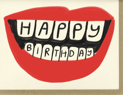 Birthday Lips - Adele Gilani Art Gallery