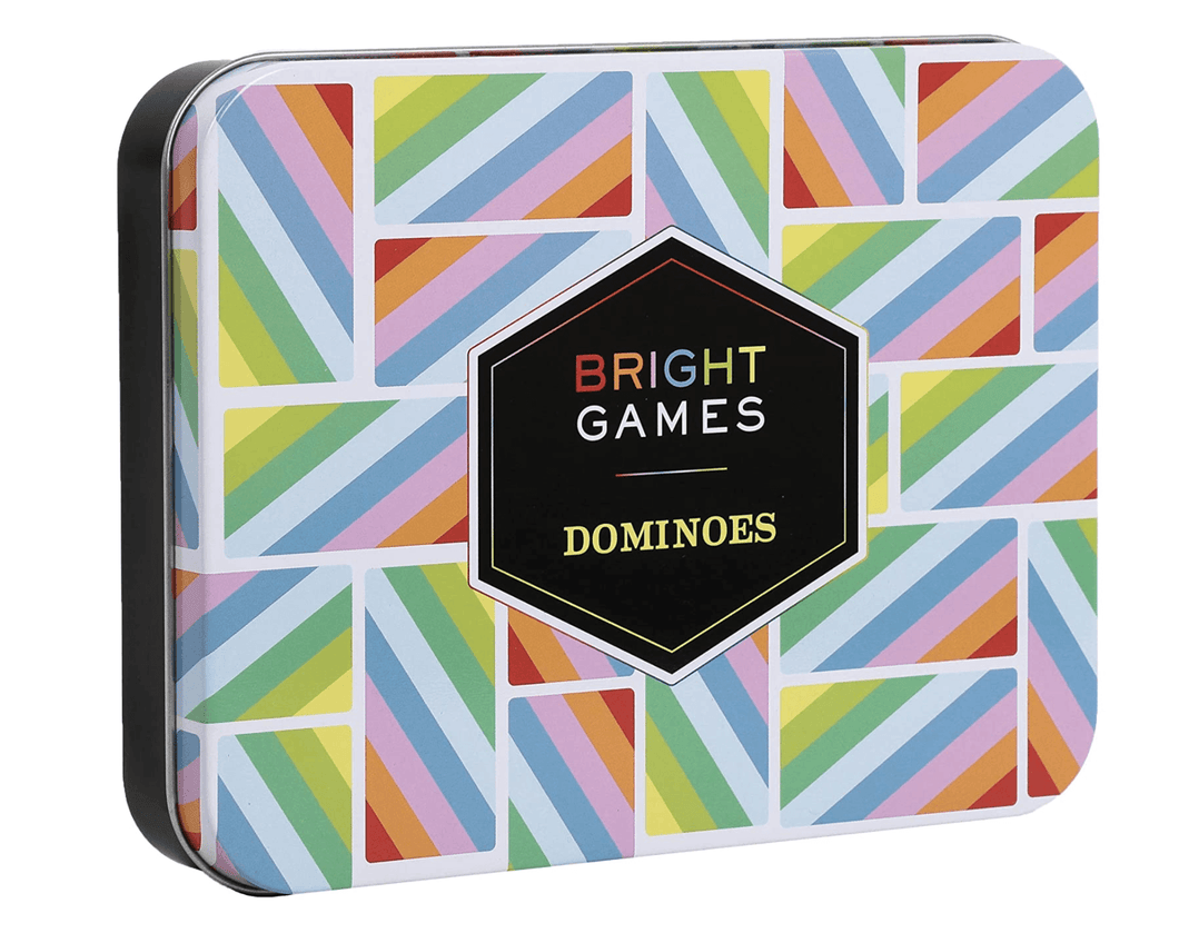 Bright Games Dominoes - Adele Gilani Art Gallery