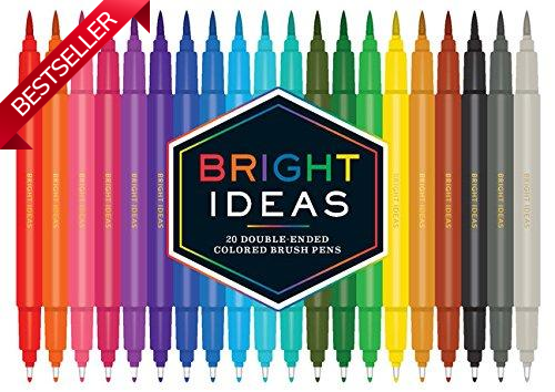 Bright Ideas Double-Ended Brush Pens - Adele Gilani Art Gallery