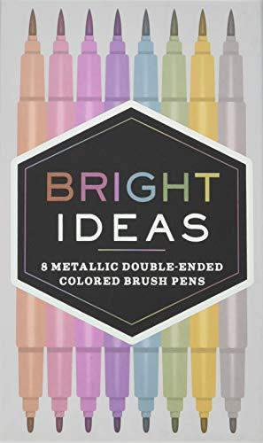 Bright Ideas Metallic Double-Ended Brush Pens - Adele Gilani Art Gallery