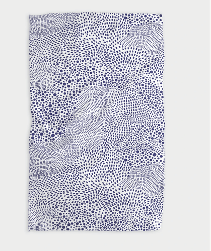 Changing Spots Kitchen Tea Towel - Adele Gilani Art Gallery