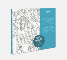 Load image into Gallery viewer, Crazy Museum Giant Coloring Poster - Adele Gilani Art Gallery