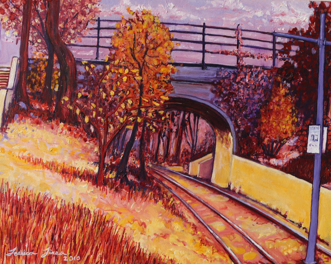 Dolores Park Bridge - Adele Gilani Art Gallery