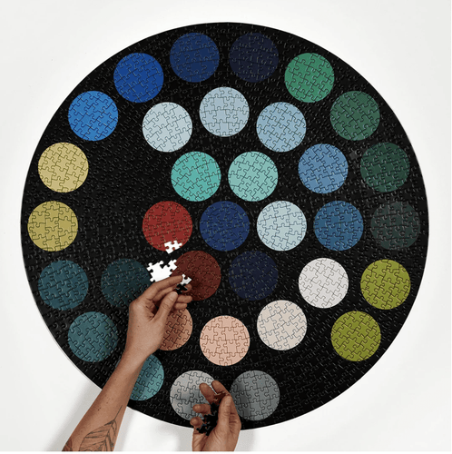 Dots Puzzle - Adele Gilani Art Gallery