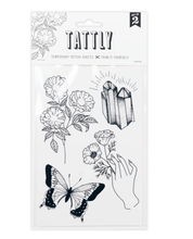 Load image into Gallery viewer, Earthly Gems Tattoo Sheet - Adele Gilani Art Gallery