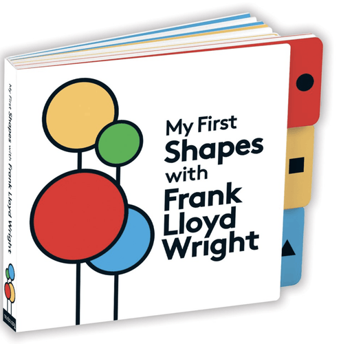 First Shapes | Frank Lloyd Wright Board Book - Adele Gilani Art Gallery