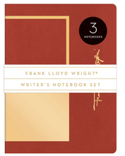 Load image into Gallery viewer, Frank Lloyd Wright Writer's Notebook Set - Adele Gilani Art Gallery