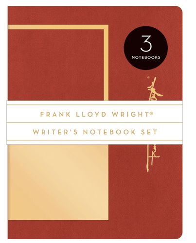Frank Lloyd Wright Writer's Notebook Set - Adele Gilani Art Gallery