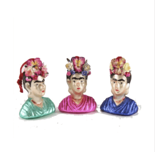 Frida Kahlo Bust Ornament - Adele Gilani Art Gallery