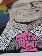 Load image into Gallery viewer, Harvey Milk: Hope Will Never Be Silent - Adele Gilani Art Gallery