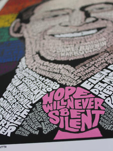 Harvey Milk: Hope Will Never Be Silent - Adele Gilani Art Gallery
