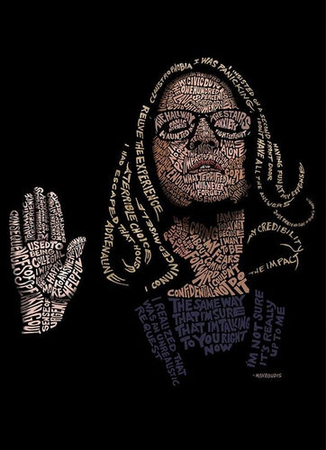 Limited-Edition Dr. Blasey Ford Print (TIME magazine cover art) Unframed - Adele Gilani Art Gallery