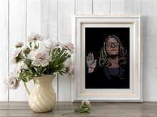 Load image into Gallery viewer, Limited-Edition Dr. Blasey Ford Print (TIME magazine cover art) Unframed - Adele Gilani Art Gallery