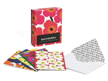 Load image into Gallery viewer, Marimekko Notes: 20 Different Unikko Notecards and Envelopes - Adele Gilani Art Gallery