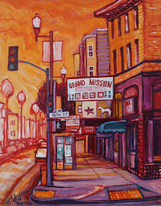 Mission Donuts - Adele Gilani Art Gallery