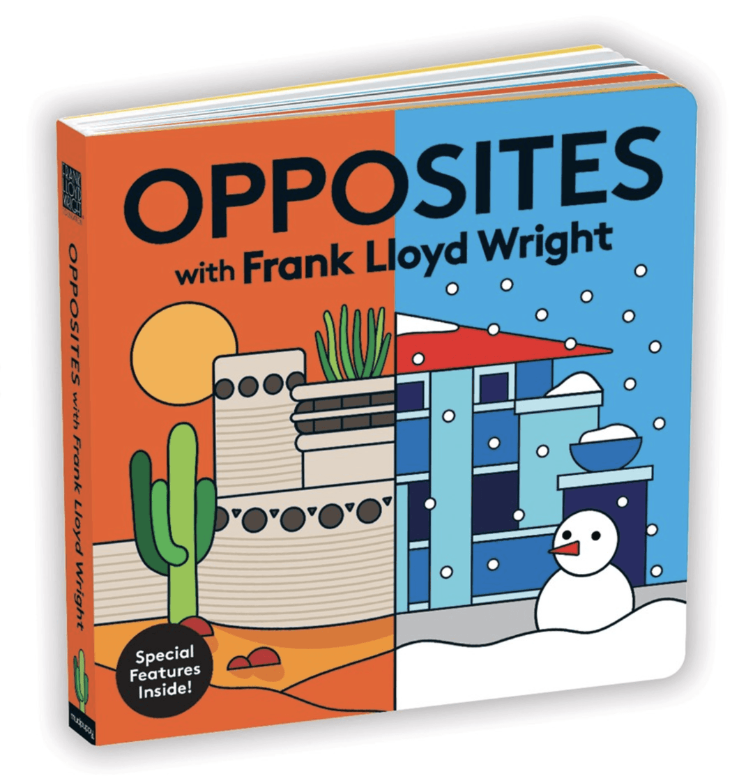 Opposites with Frank Lloyd Wright - Adele Gilani Art Gallery
