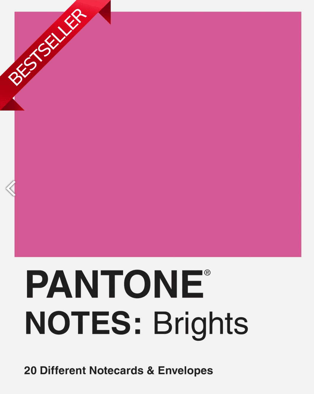 Pantone Notes: Brights : 20 Different Notecards & Envelopes - Adele Gilani Art Gallery