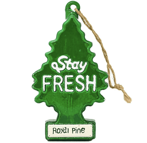 Stay Fresh Holiday Ornament - Adele Gilani Art Gallery